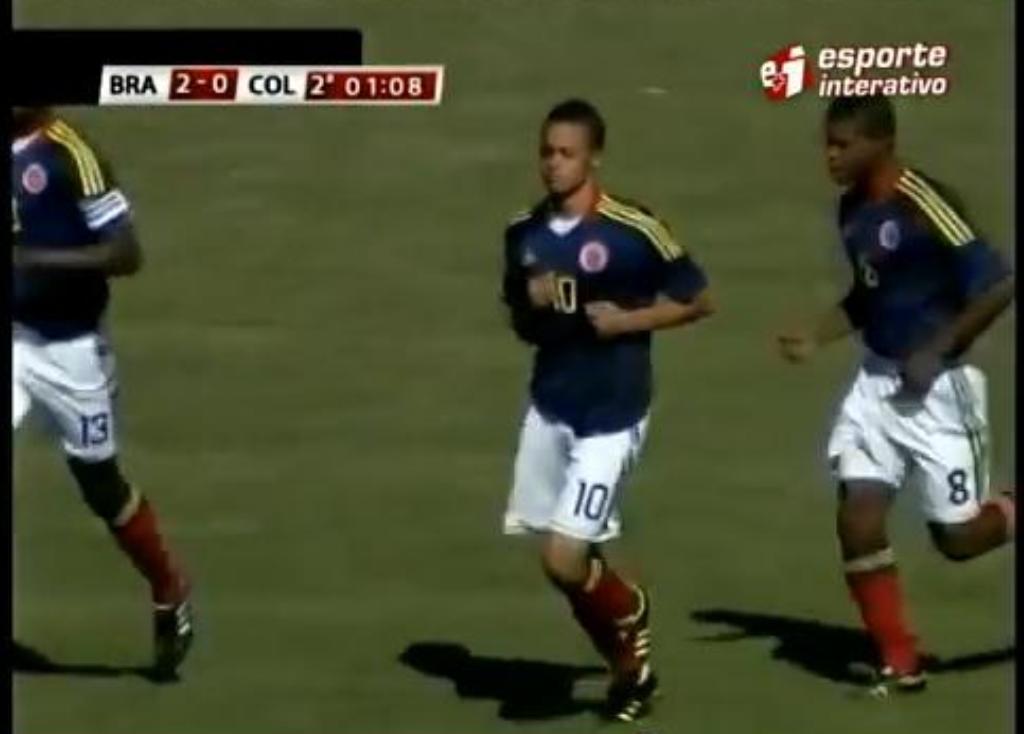 Golaço de João Rodriguez