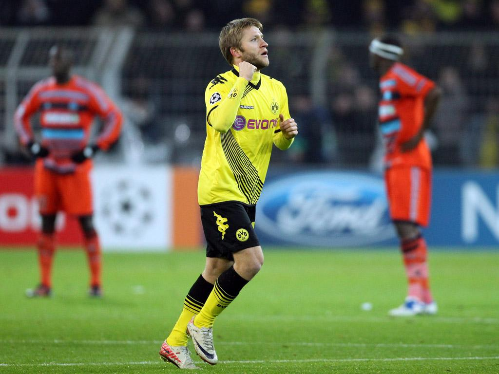 Borussia Dortmund vs Marselha (EPA)