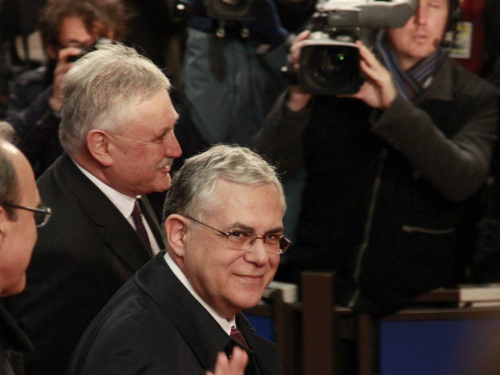 Lucas Papademos, primeiro-ministro da Grécia