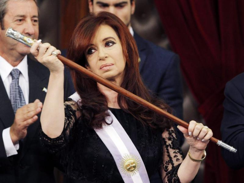 Cristina Kirchner (EPA/LEO LA VALLE)