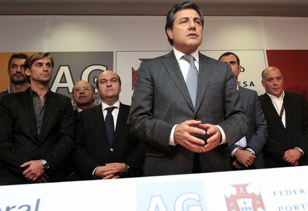 Fernando Gomes é o novo presidente da Federação Portuguesa de Futebol Fotos Lusa