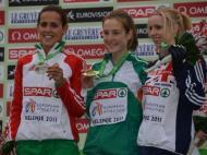 Ana Dulce Félix, medalha de Prata (seniores femininas)