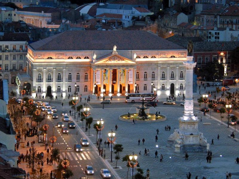Lisboa - Rossio (fotoTurismo de Lisboa)