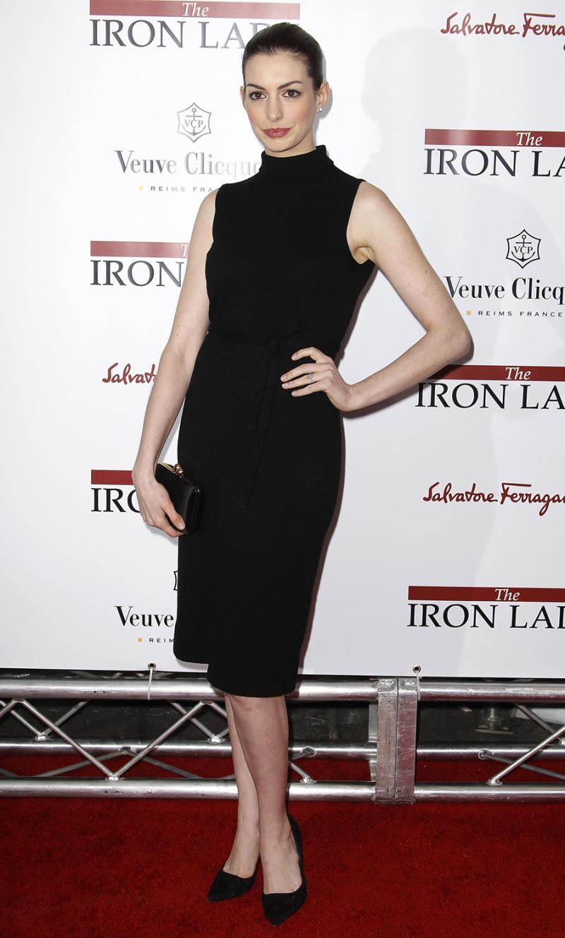 Anne Hathaway - Antestreia de The Iron Lady em Nova Iorque Foto: Reuters