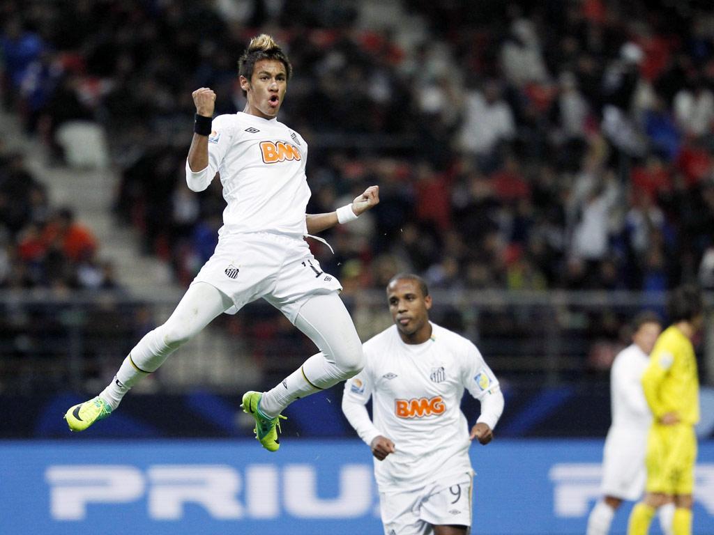 Kashiwa Reysol vs Santos (Kim Kyung Hoon / Reuters)