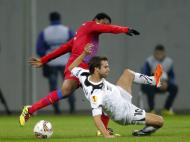 Steaua Bucareste vs AEK Larnaca (EPA/Robert Ghement)