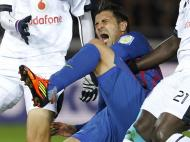 Barça-Al Sadd: a lesão de Villa