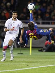 Al-Sadd vs Barcelona (Kim Kyung Hoon / Reuters)