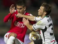 Hapoel Tel-Aviv vs Legia (EPA/Oliver Weiken)