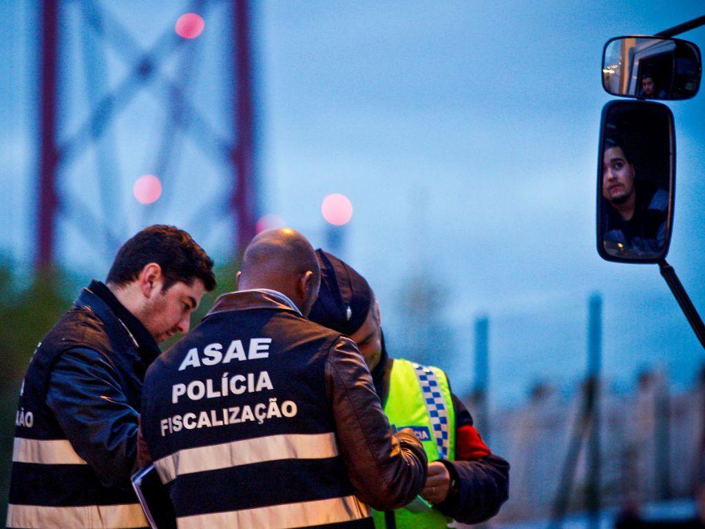 Operação de fiscalização da ASAE [LUSA]