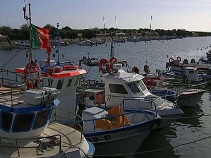 Barcos de pesca Algarve