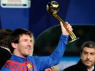 Messi foi eleito melhor jogador do Mundial de Clubes