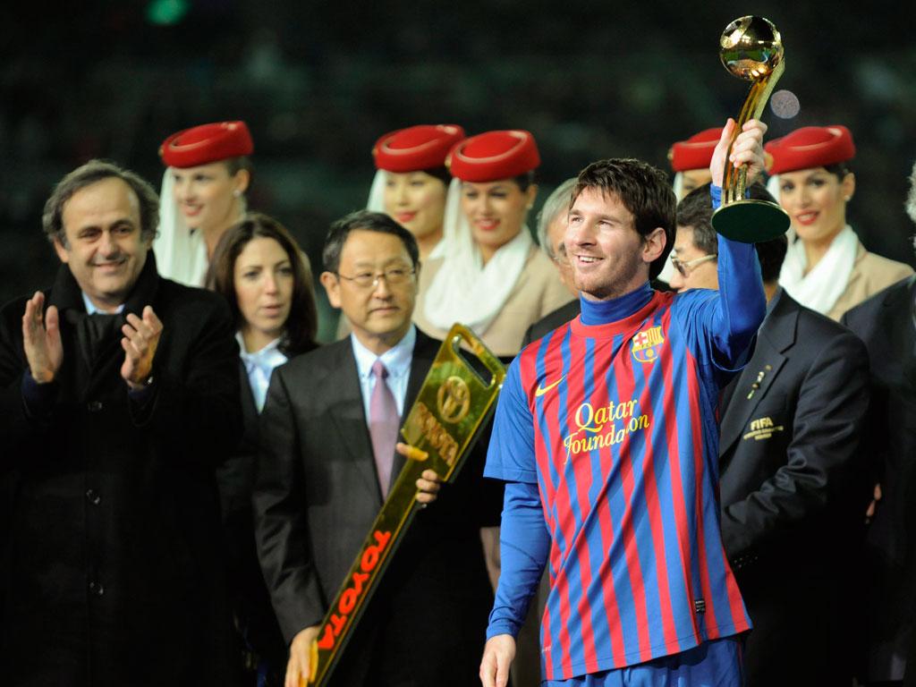 Messi, melhor jogador da final