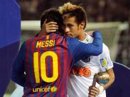 Messi e Neymar, só um brilhou em Yokohama
