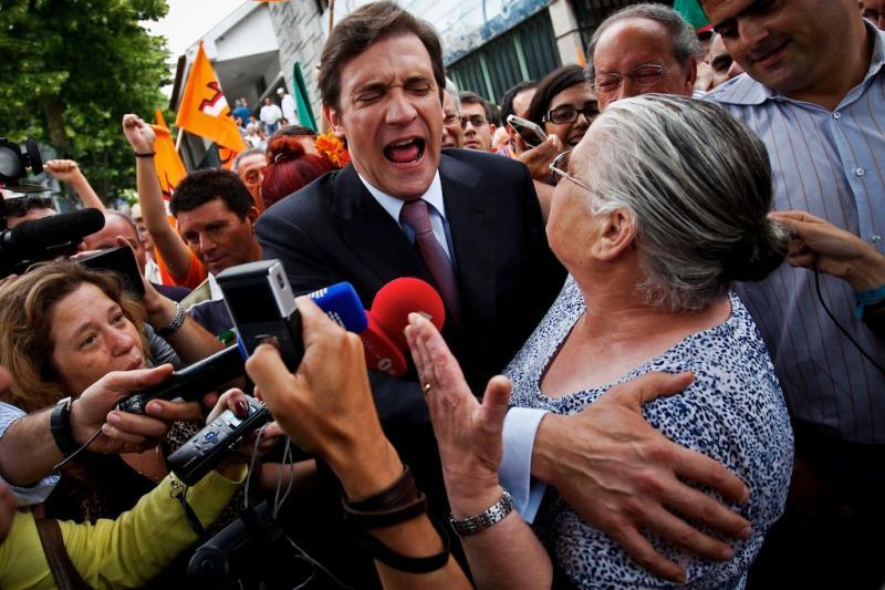 Best of Maio 2011: Pedro Passos Coelho durante a campanha para as eleições legislativas