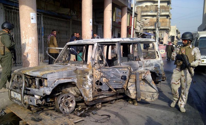 Explosões em Bagdade [Reuters]
