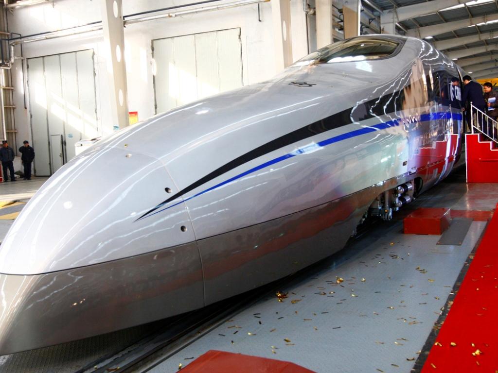 Comboio de alta velocidade chinês (Reuters)