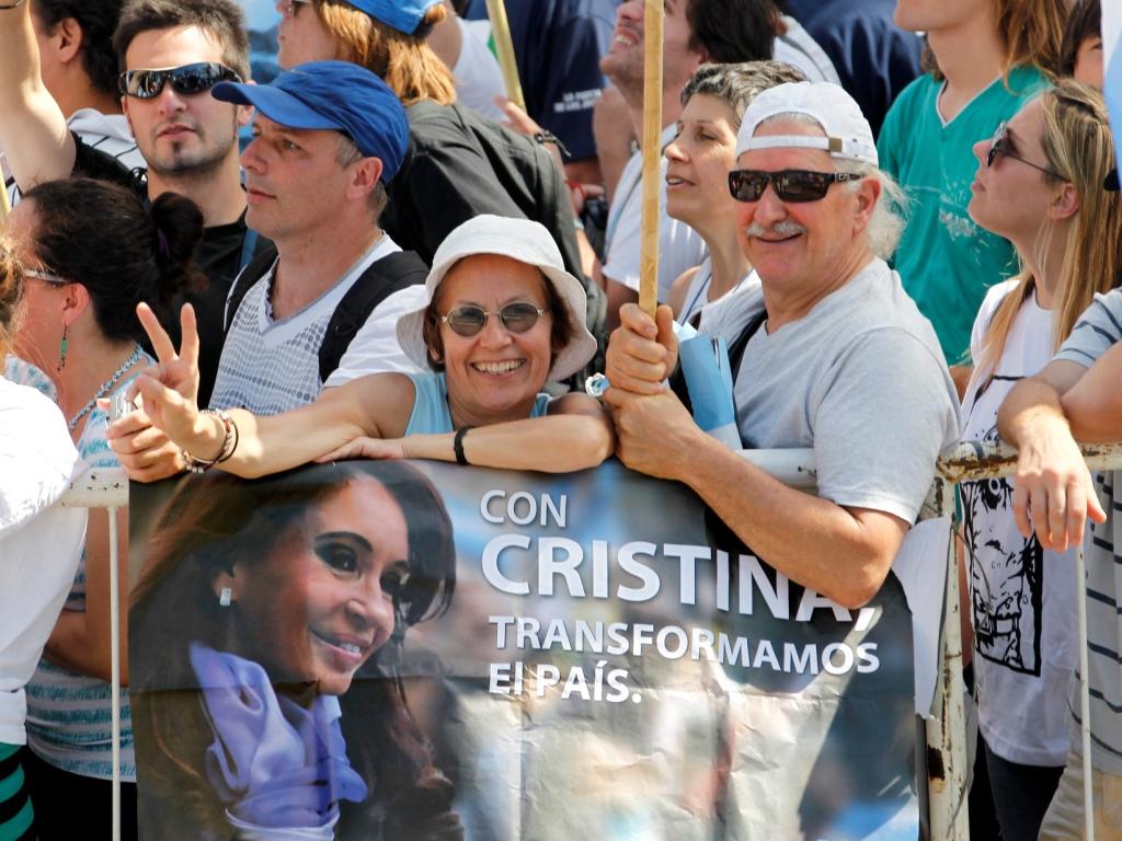 Cristina Kirchner  - foto Reuters