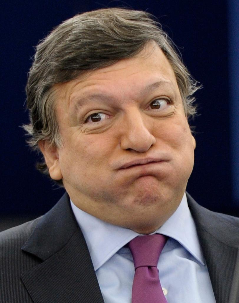 Best of Outubro 2011: Durão Barroso reage às conclusões da reunião do Conselho Europeu (EPA/CHRISTOPHE KARABA)