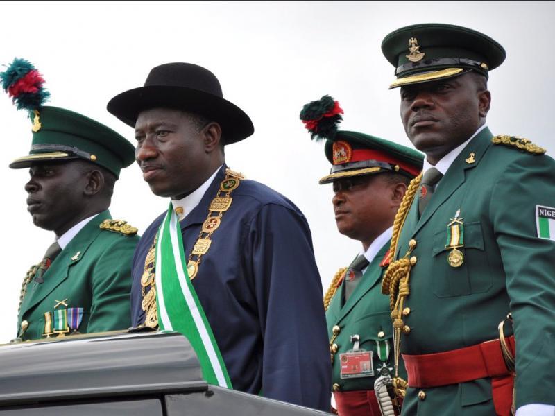 Goodluck Jonathan, presidente da Nigéria - EPA/STR