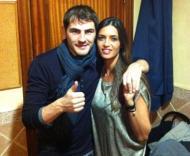 Iker Casillas e Sara Carbonero - A passagem de ano dos famosos Foto: DR