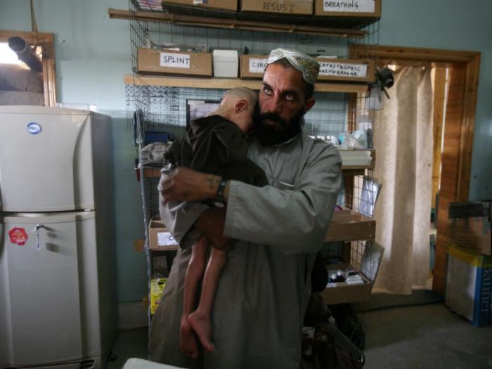 Fotografia de João Silva no Afeganistão (Lusa)