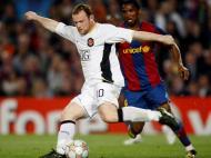 Samuel Eto e Rooney