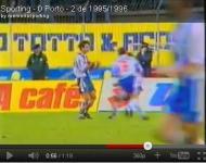 Domingos no Sporting-FC Porto de 1996