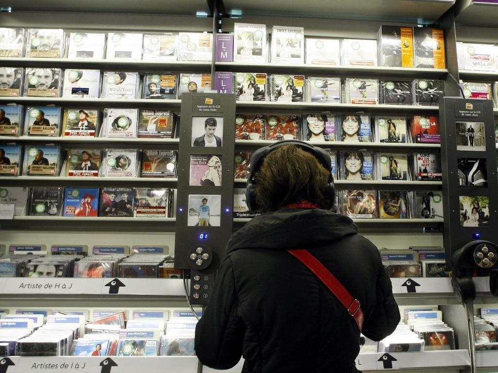 Venda de discos (Reuters)