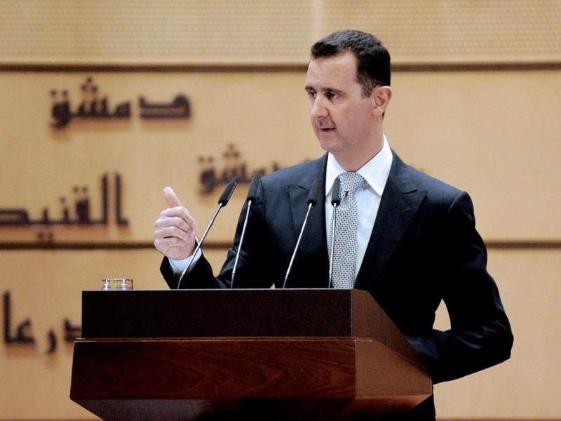 Bashar al-Assad - EPA/SANA