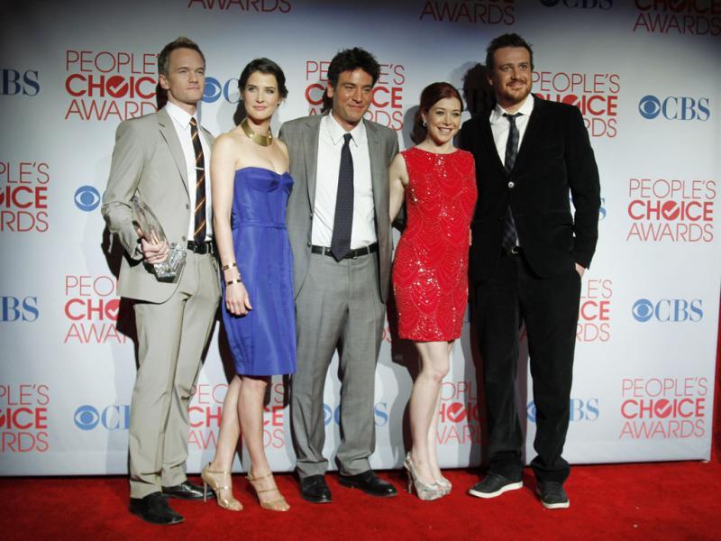 Elenco de «Foi Assim Que Aconteceu» nos People`s Choice Awards 2012 (Reuters)