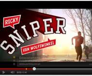 Wolfswinkel, sniper em anúncio na Holanda
