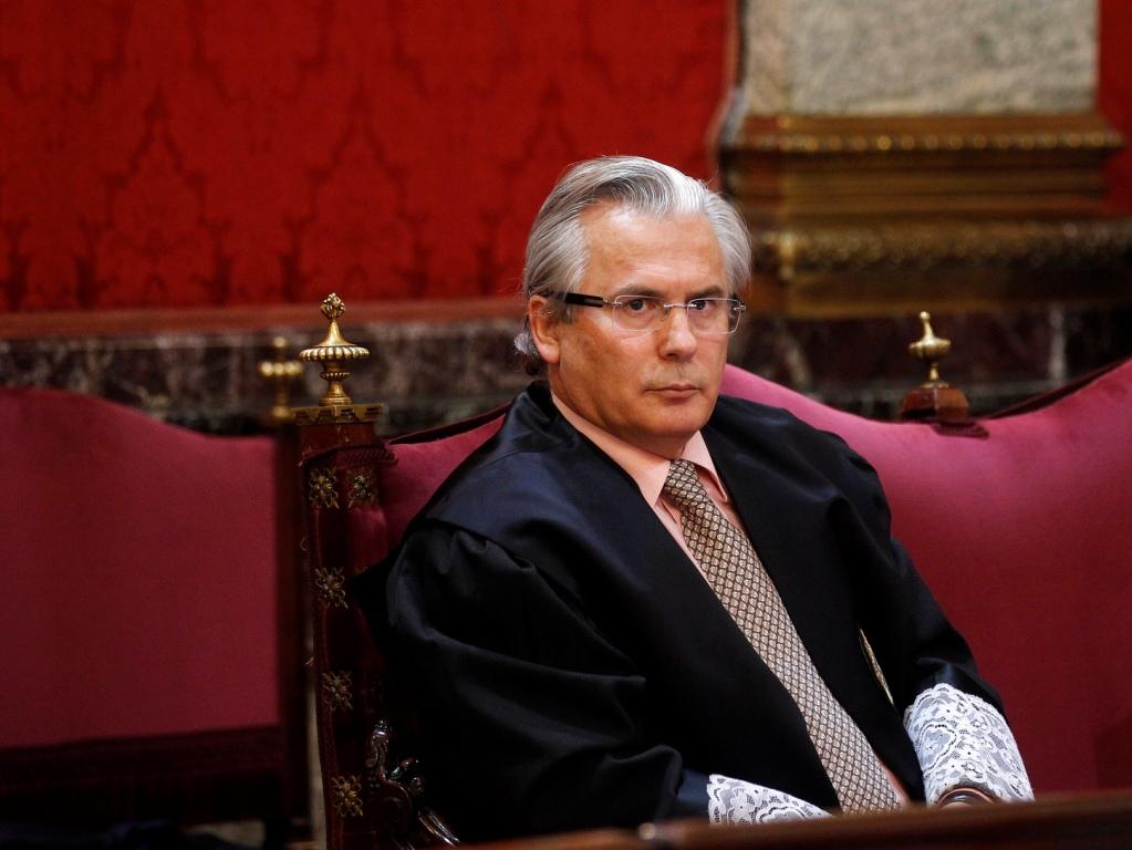 Baltazar Garzon em tribunal [Reuters]