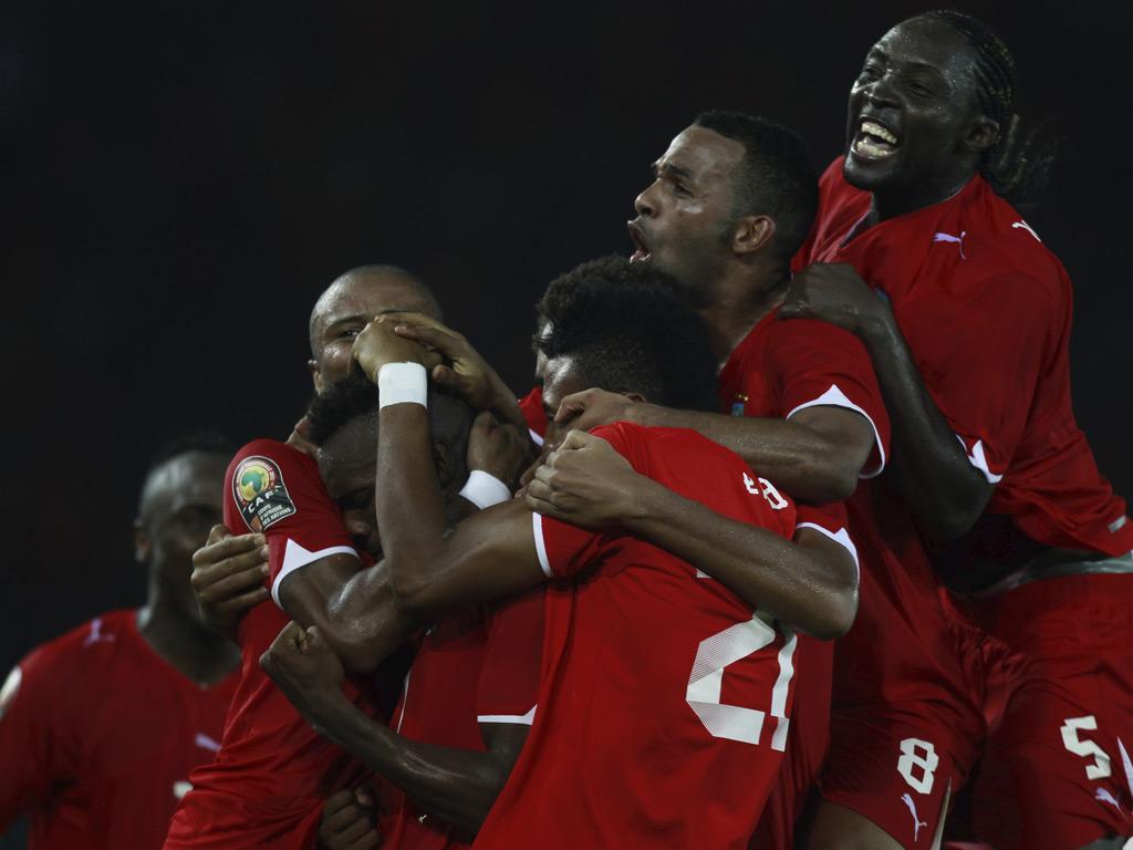 Guiné Equatorial vs Líbia (Amr Dalsh / Reuters)
