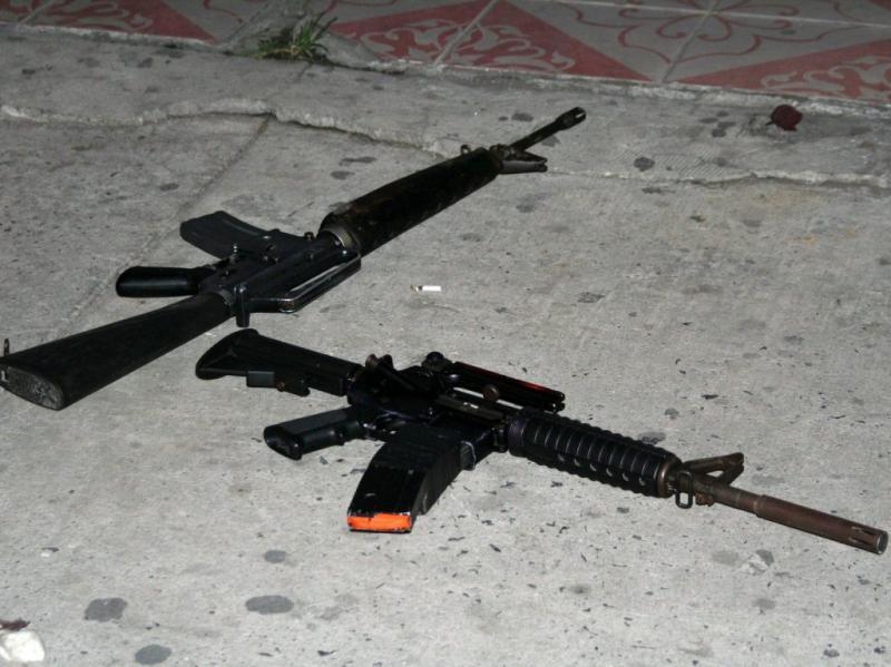 Guatemala: violência na discoteca El Ranchon fez oito mortos (foto Lusa/EPA)