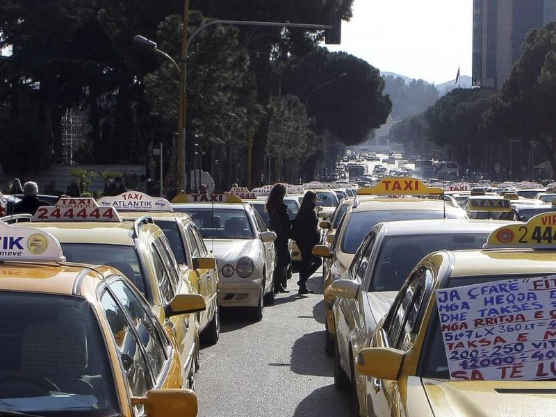 Taxistas (Reuters)
