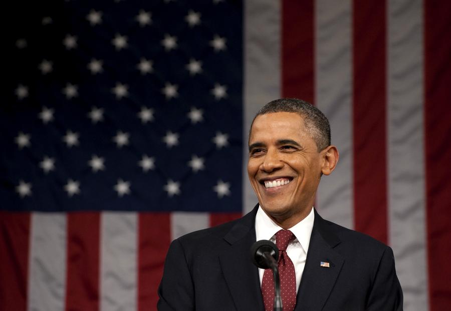 Obama - discurso do Estado da União Foto: Reuters