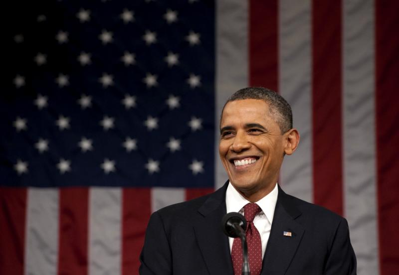 Obama - discurso do Estado da União Foto: Reuters