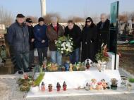 8º aniversário da morte de Fehér (Foto: DR Maisfutebol)