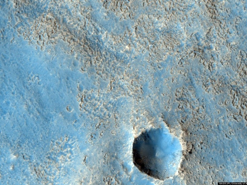 NASA apresenta novas imagens de Marte (Foto: Nasa/JPL-Callech/Univ. of Arizona)
