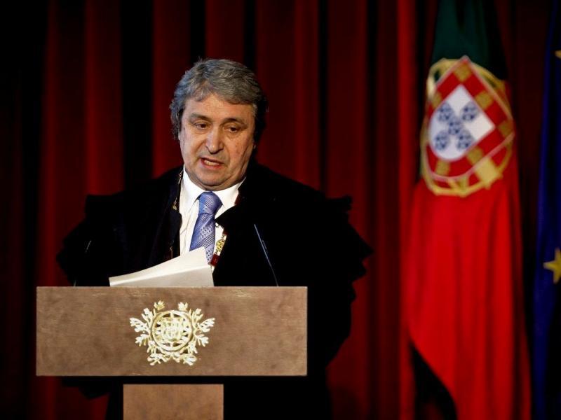 Pinto Monteiro na abertura do ano judicial (Mário Cruz/Lusa)