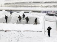 Neve adia jogos na Serie A [Reuters]