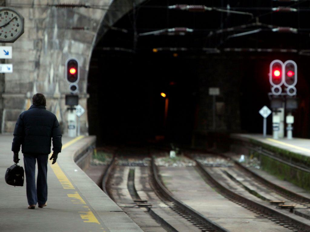 Greve dos transportes 2 de Fevereiro (LUSA)