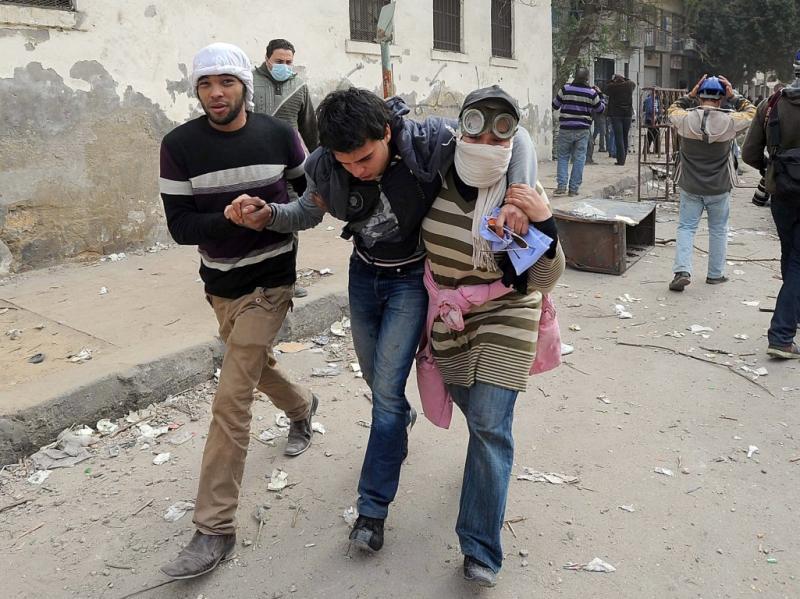 Confrontos no Cairo [EPA]