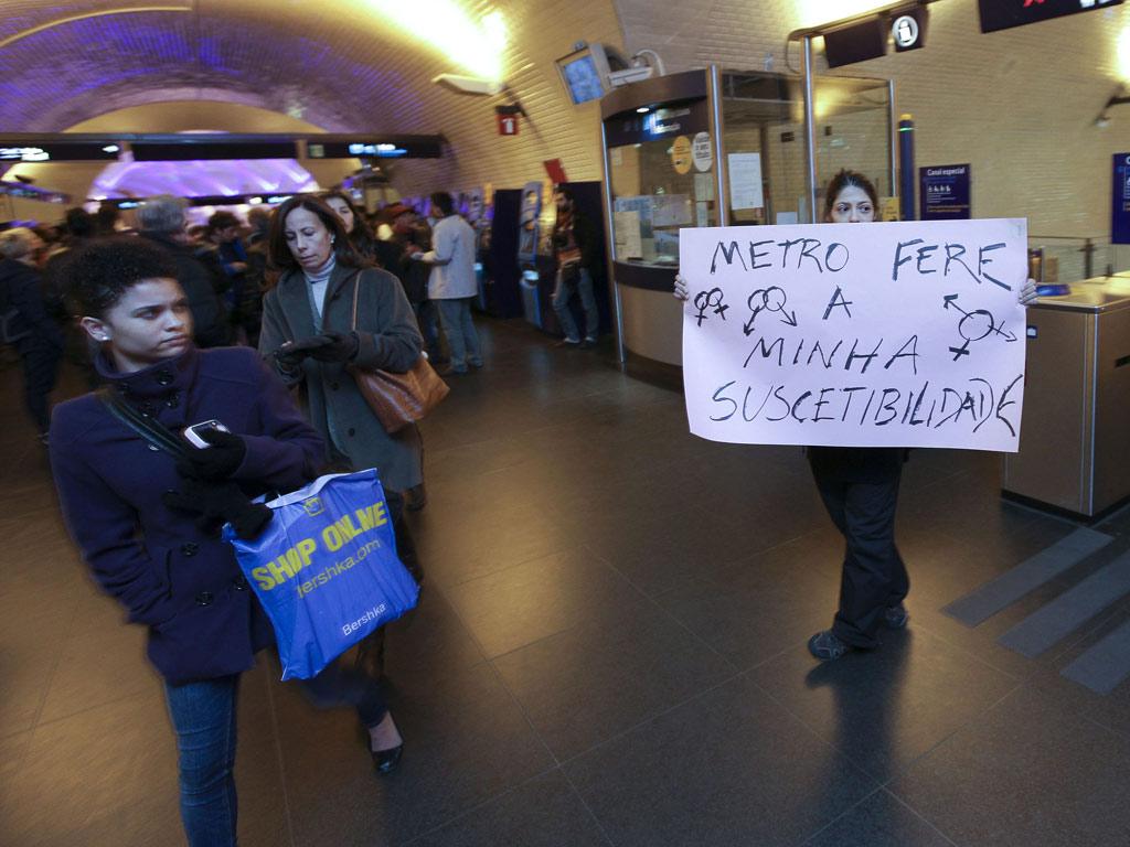 Protesto no Metro de Lisboa (Manuel de Almeida/Lusa)