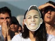 Adepto de Neymar no Mundial de Clubes (REUTERS/Mauricio de Souza)
