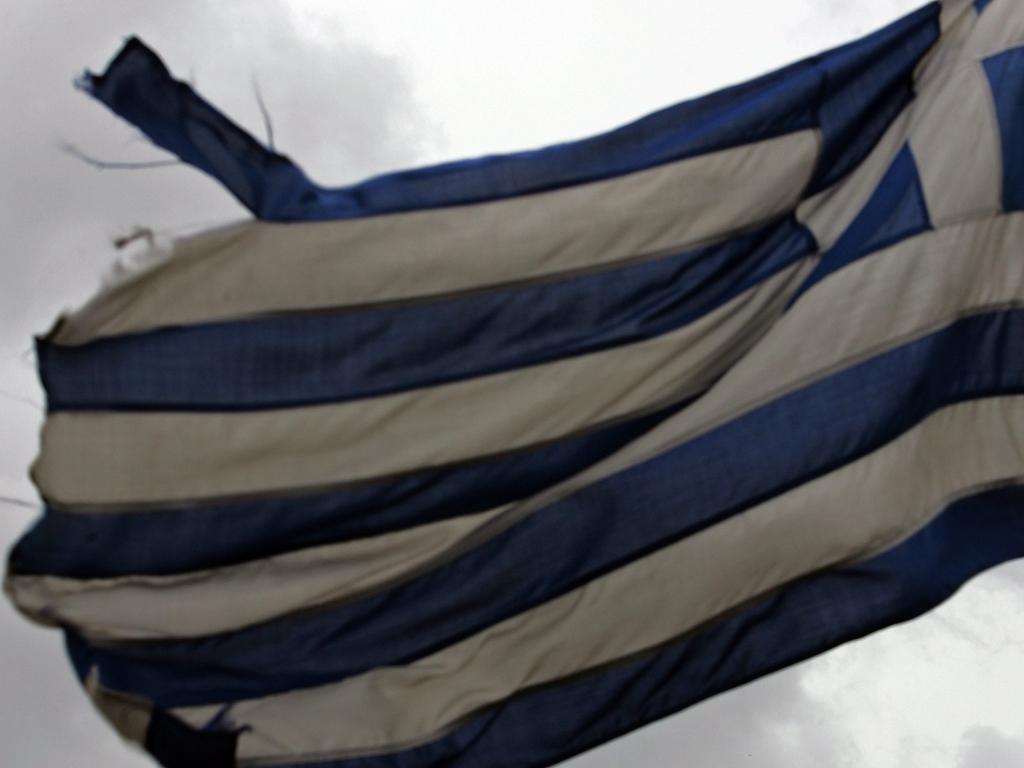 A Grécia em farrapos (LUSA)