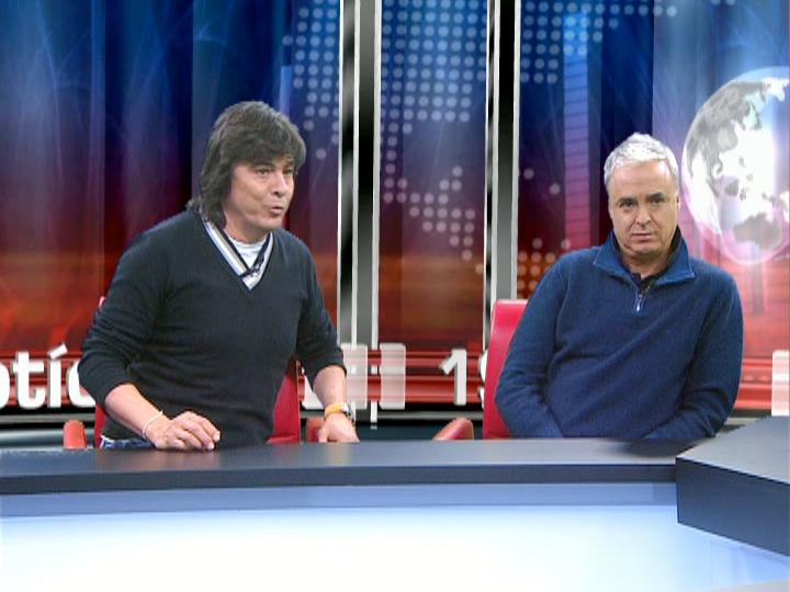 Luís Represas e João Gil na TVI24