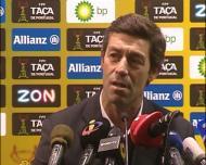 Pedro Caixinha, após o Nacional-Sporting