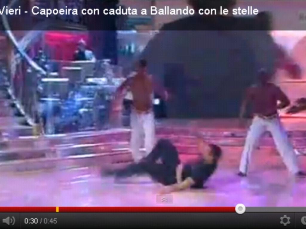 Vieira no Ballando con le stelle
